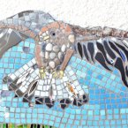 Eagle Mosaic at Kinlochbervie