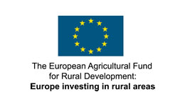 Link to find out more about our funder, The European Agricultural and Rural Development Fund.