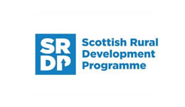 Link to find out more about our funder, Scottish Rural Development